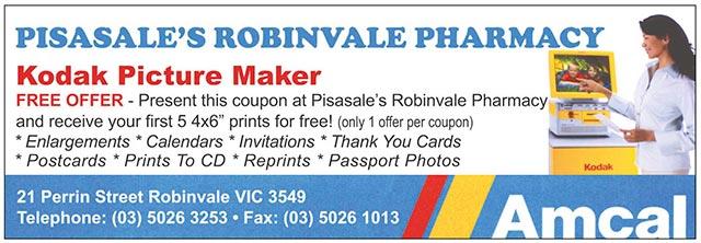 Pisasale's Robinvale Pharmacy
