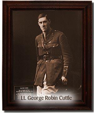 Lt. George Robin Cuttle