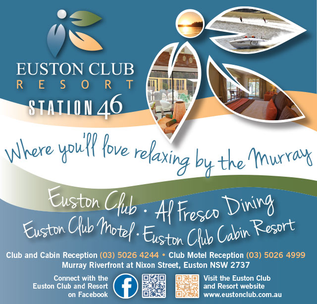 Euston Club Resort Bistro Dining Robinvale - Station46