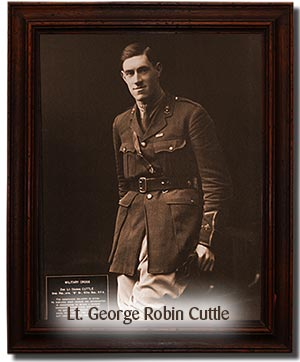 Lt. George Robin Cuttle